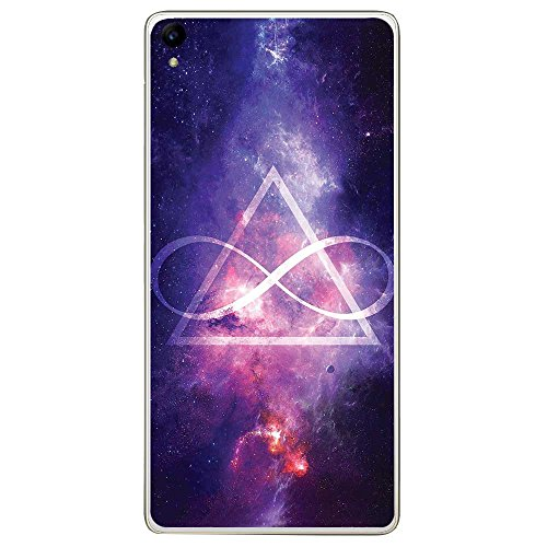 Housse Coque Etui Archos Diamond S silicone gel Protection arrière - Infinite Triangle