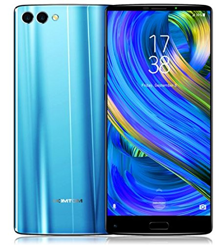HOMTOM S9 Plus - 5,99 Zoll (18: 9) Tri-bezelless Vollanzeige Android 7.0 4G Smartphone, Octa Core 1.5 GHz 4 GB RAM 64 GB ROM, dreifache Kamera (13MP + 5MP + 16MP), 4050mAh Batterie - Blau