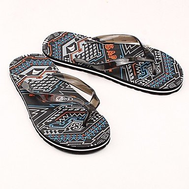 Stivali inverno delle donnecasuali zeppa piuma Heel PU sandali US11 / EU44 / UK10 / CN46