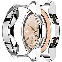 Cooljun Compatible pour Samsung Galaxy Watch 42mm,Couvercle de Protection Ultra-Mince en placage TPU