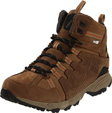 Columbia Mens Talus Ridge Mid Leather Outdry Sport Shoes