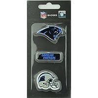 NFL Football Carolina Panthers dreiteiliges Pin Badge Set