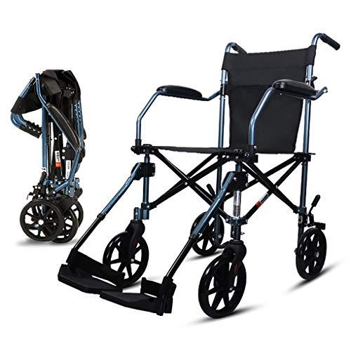 Rollstuhl-faltender Leichter Ultra Leichter Beweglicher Rollstuhl-ältere Ältere Reise-kleine Rad-Laufkatzen-Reise-Speicher-Tasche (Style : C) -