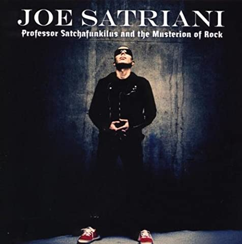 Cd Joe Satriani - Professor Satchafunkilus And The Musterion Of Rock