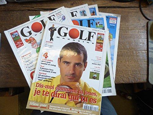 lot de 6 Golf magazine par Golf magazine