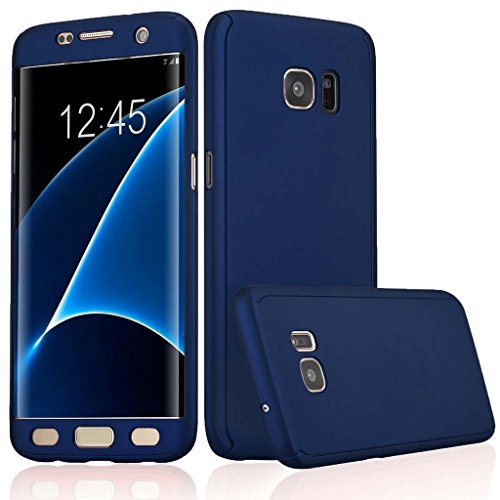 ERIT Front and Back Case Cover for Samsung J2 with Tempered Glass