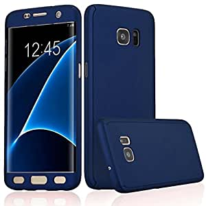 wholesale dealer dfa53 ee427 ERIT 360 Degree Full Body Protection Front and Back Case Cover for Samsung  J2 (6) 2016 J210 with Tempered Glass (Blue)