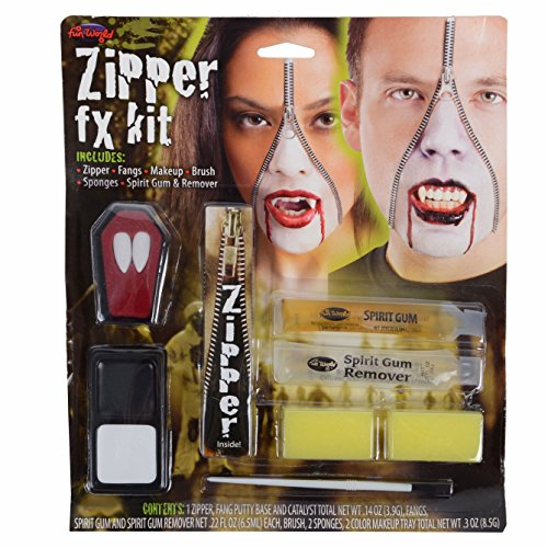 Deluxe Zipper Fx Kit - Vampire (Zipper Fx Kit)