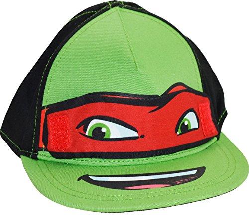enage Mutant Ninja Turtles Snapback flach Peak Baseball Cap Hat, Grün (Tmnt-baseball-cap)