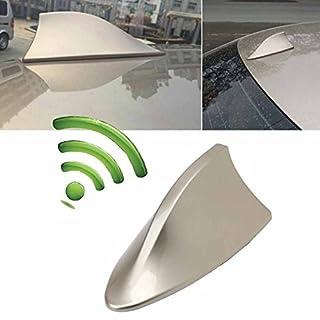 Possbay Universale Auto-Antenne Radioantenne Haifischflosse Radioempfang für das Auto SUV Lastwagen, Van