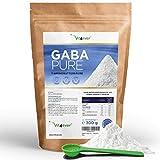 Vit4ever® Gaba Pure - 300 g reines Pulver ohne Zusätze - 100% Gamma-Aminobuttersäure - 100 Portionen - Laborgerpüfte Reinheit - Vegan - Premium Qualität