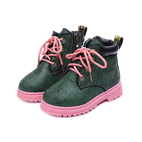 Morbuy Kids Winter Fashion Boots, Unisex Baby Boy and Girl Shoes Outdoor Waterproof Warm Soft Comfortable Toddler Slip-on Martin Boot