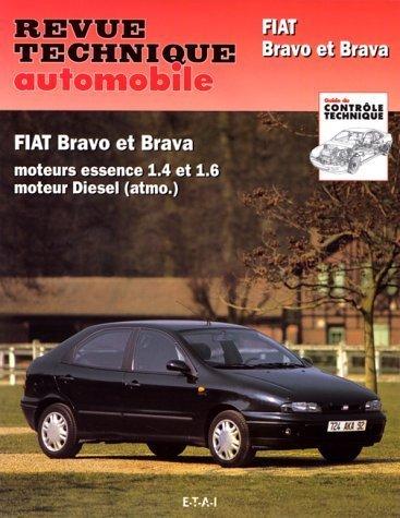 Revue Technique Automobile, n° 585.2 : Fiat Bravo & Brava, moteur essence et moteur Diesel de Collectif (7 juin 1996) Broché