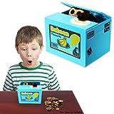 Toy Cubby Electronic Monkey Stealing Coins Savings Box Kids Money Savings Box