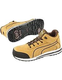 Zapato de seguridad Puma Dash Wheat MID S3Src HRO