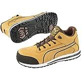 Puma 633180.42 Chaussures de sécurité Dash Wheat Mid S3 SRC HRO Taille 42, Jaune/Brun/Noir