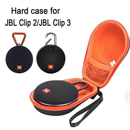 Kapokilly Bluetooth Audio Package, Sac De Rangement Universel Bluetooth Audio Pack pour JBL CLIP2 CLIP3, Protégez Le Haut-Parleur Contre Les Chocs