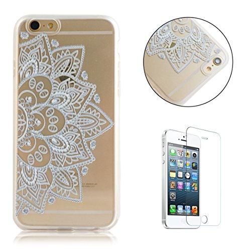 iphone-se-5s-5-caso-con-gratis-protector-de-pantalla-casehome-ultra-delgado-choque-resistente-claro-
