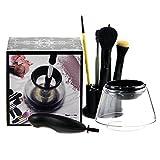 Eléctrico Limpiador de brochas de maquillaje–brochas secado lavadora Tool Set