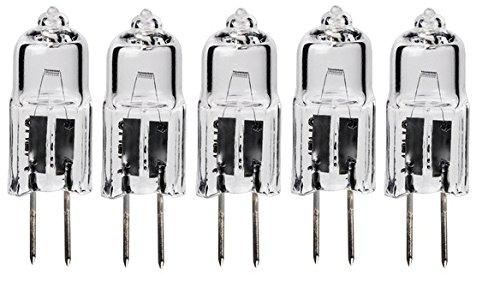 LSE Beleuchtung 5Pack-Xenon JC Bi-Pin 20W 12V xjc20/CL/G4/12V G4Sockel - 20 W Bi-pin-sockel
