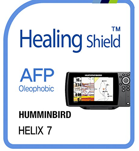Displayschutzfolie für Humminbird, Afp oleophobe Beschichtung Klar Displayschutzfolie LCD Guard Heilung Shield Film HUMMINBIRD Helix 7 Lcd Guard Film