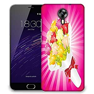 Snoogg beautifull flower bouque series design Designer Protective Back Case Cover For Meizu M2
