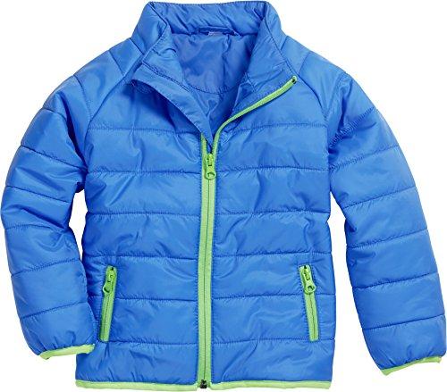 Schnizler Unisex Baby Jacke Steppjacke, (blau 7), 80