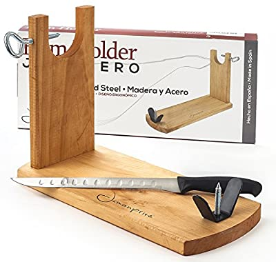 Ham holder and carving knife Bench Steelblade