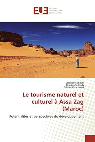 Le tourisme naturel et culturel à Assa Zag (Maroc)