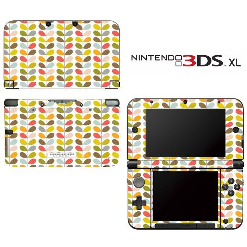 orla-color-stem-pattern-decorative-video-game-decal-cover-skin-protector-for-nintendo-3ds-xl-by-deca