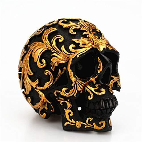 Trompete Knochen Schädel Dekoration Rose Gold Kunst Makeup Point Hauptdekorationen Halloween Party Supplies ()
