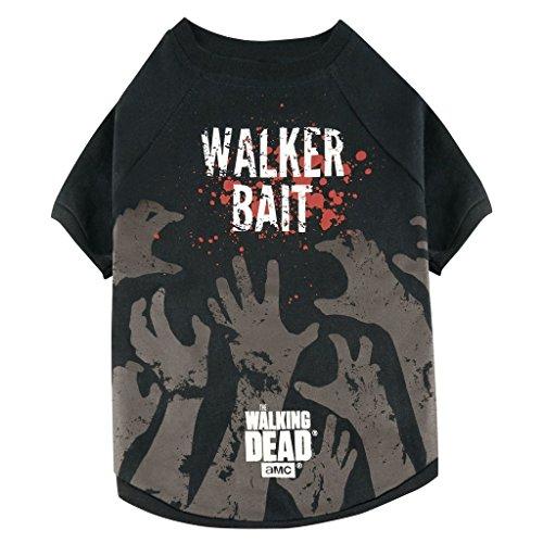 The Walking Dead - Hunde T-Shirt - Walker Bait (S-XL) (L) (Michonne Kostüm Hund)