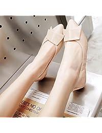 GAOLIM Tortillas Zapatos De Mujer Señaló Zapatos Planos Solo Verano Mujer Zapatos Ligeros, Cómodos Y Blandos De...