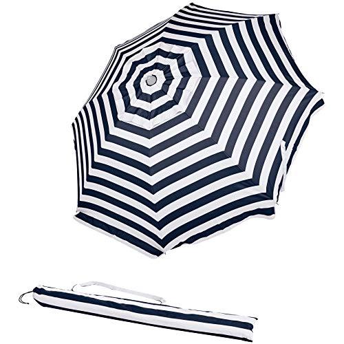AmazonBasics Parasol de plage - Bleu marine