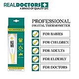 Termometro clinico Questo termometro orale, rettale e ascellare termometro termometro è una febbre Termometro medico digitale per adulti neonati e bambini 10 Sec Lettura Healthy Living Celsius e Fahrenheit