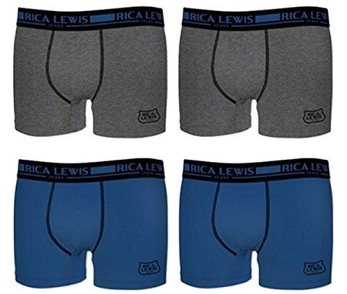 Rica Lewis Herren Boxershort Pack de 4 asst2
