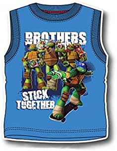 Ninja Turtles - Código OE1298 - Camiseta de tirantes, sin mangas, con impresión de