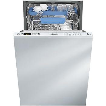 Indesit Disr 57M94CA UE Lave-vaisselle vollint egriert/A + +/211Lignac kWh/an/10/2520L/AN/seulement 44dB très silencieux/seulement 9L de 0,74kWh