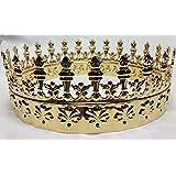 Corona de príncipe dorada