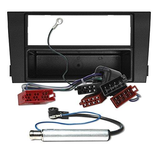 AUDI a6 c5 4B set complet de façade d'autoradio façade cadre câble adaptateur pour autoradio 6150SET ##