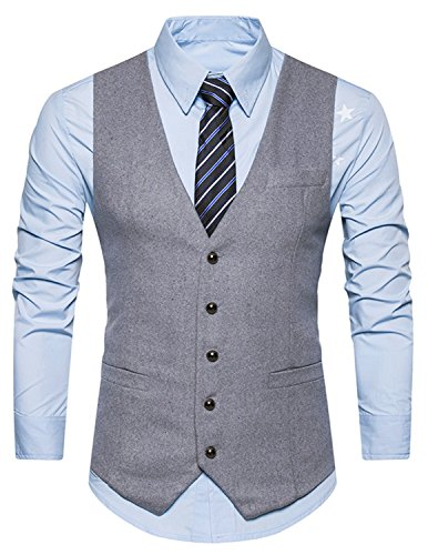 Gilet Uomo Matrimonio : Boom fashion gilet panciotto uomo sartoriale elegante casual