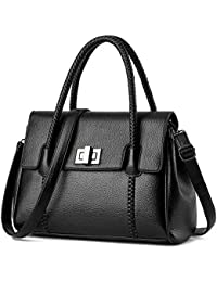 Women Cover PU Leather Totes Bags Ladies Casual Handbags Satchels Handbags & Crossbody Bags