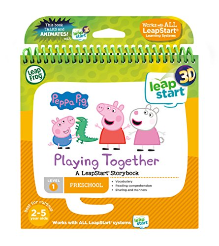 LeapFrog 4604033D Story Book Peppa Pig Lernen Spielzeug, Multi, One Size