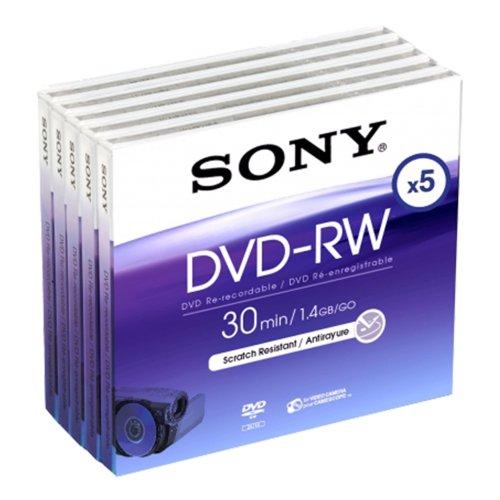 DVD -Rw 8cm 30 Mn X5