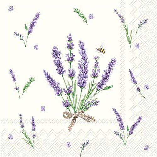 Celebrate The Home floral 3-lagig Papier Cocktail Servietten, 20-count, Bouquet von Lavendel Bouquet Serviette