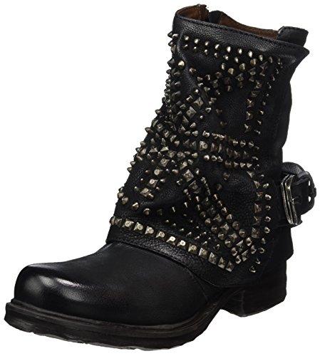 A.S.98 Damen Saintec Biker Boots Schwarz (Nero) 38 EU