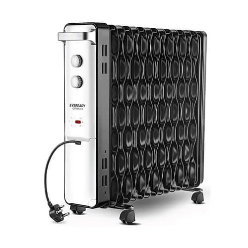 Eveready OFR13H 2500-Watt Oil Filled Radiator (Black)
