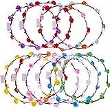 10 Stücke LED Blume Stirnbänder