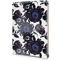 Flower Night Blue Rose Blossom Pattern Durable Hard Plastic Snap-On Plastic Tablet Case Cover For iPad Mini 2 / 3