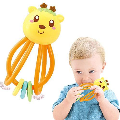 STY 1 bis 12 Monate Baby Spielzeug, Amazon Baby Spielzeug Kinderkrankheiten Spielzeug und sensorische Beißring Aktivität Spielzeug Rassel Spielzeug, Geburtstagsgeschenk, Baby Geschenk Gift